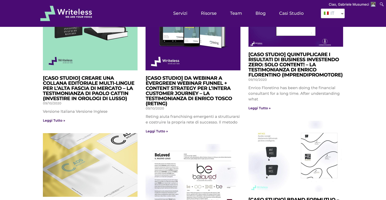 esempi content marketing
