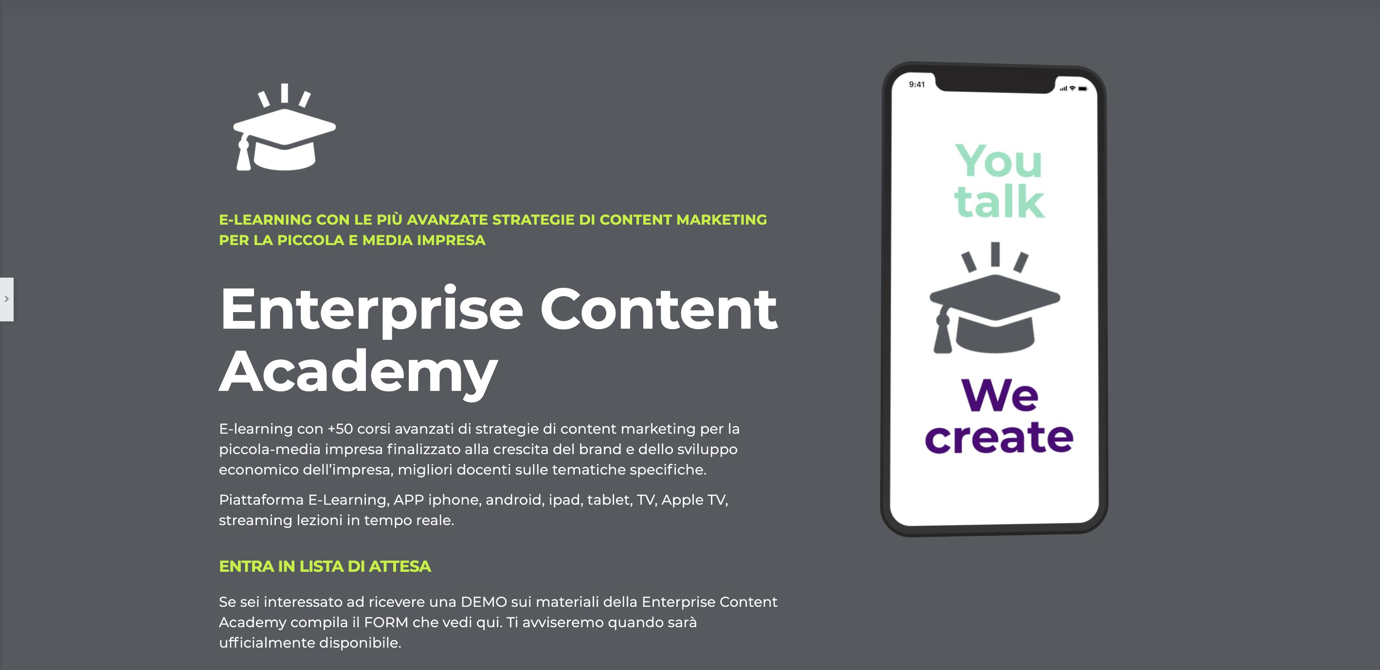Acadèmia de màrqueting de contingut