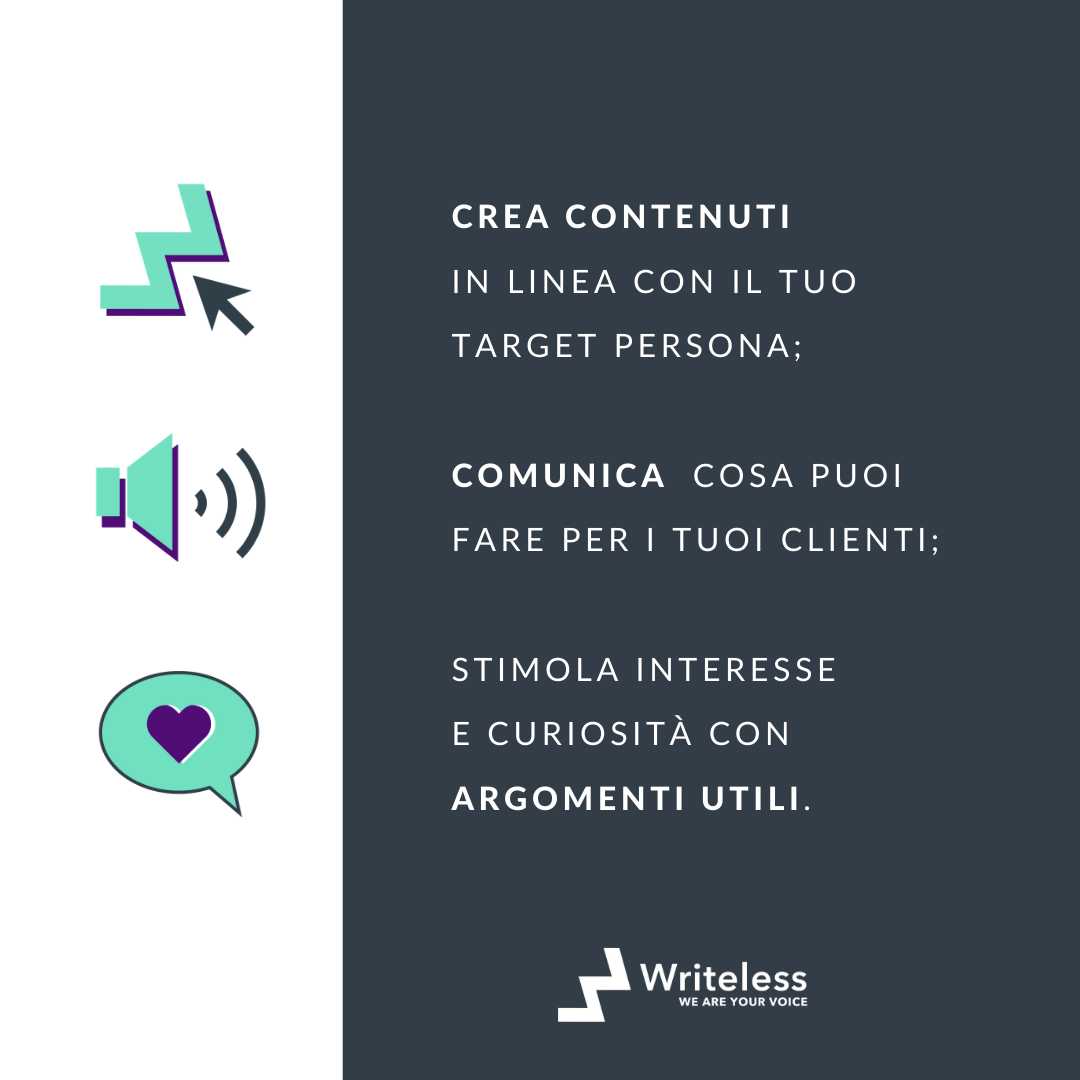 piano di content marketing