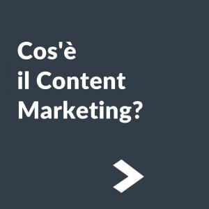cos è il content marketing